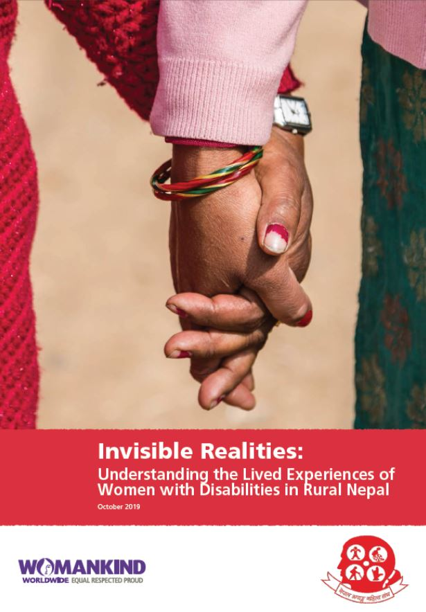 Coverpage of Invisible Realities Report